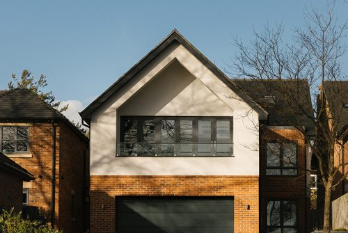Derby Residential Architecture Facade